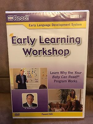 Your Baby Can Read Early Learning Workshop Dr. Robert Titzer Parent DVD NEW
