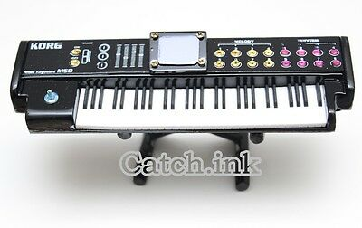 Korg M50 Black Music Workstation Synthesizer Keyboard Miniature for Display Only