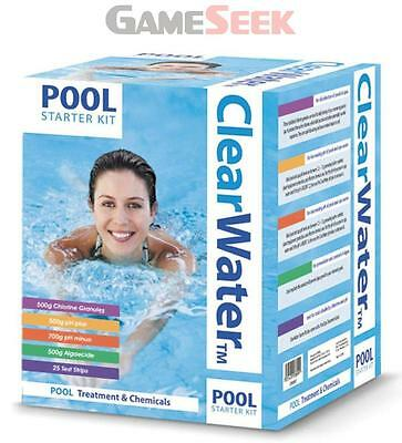 Clearwater Pool Chemicals Kit White 500G