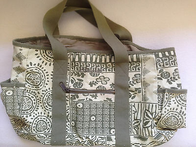 """Life is Good"" Tote/Project Bag for Knit/Crochet"