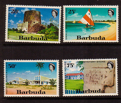 Barbuda...tourism  Set Of 4...mint  Unhinged