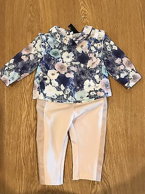 BNWT Peter Morrissey Baby Girls Set, Size 00