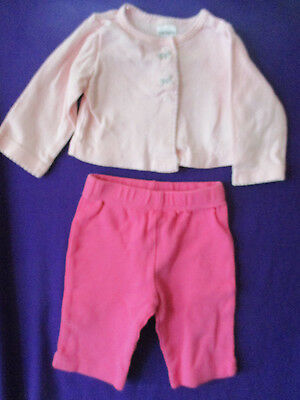 Baby Girl 2 pc. outfit, Pink Size 0 - 3 mo. Carter's