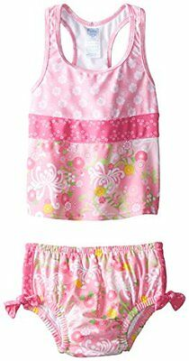 I Play. Organic cotton20 rosa Light Pink Mum Garden 6-12 mesi