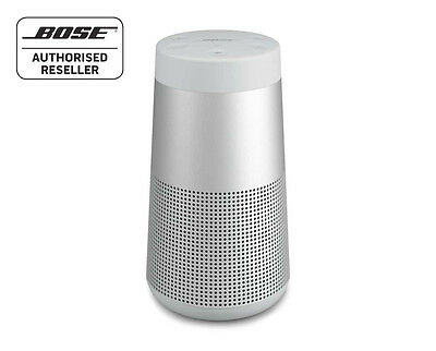 Bose Soundlink Revolve Bluetooth Speaker 360º SOUND & Water Resistant, LUX GREY