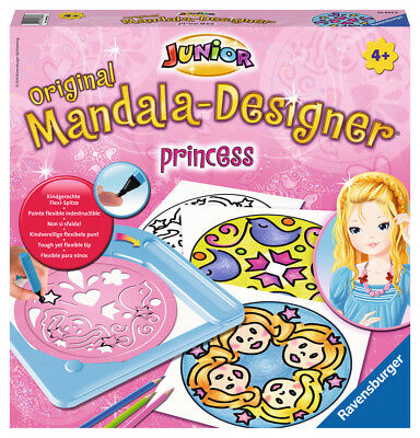 Ravensburger 29893 - Princess - Junior Mandala-Designer®