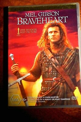 Braveheart - Never Used DVD