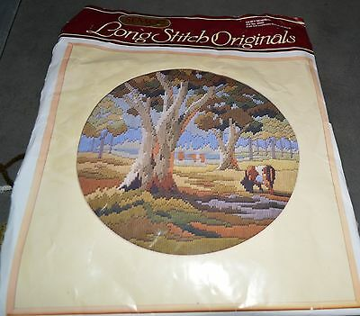 """SEMCO LONGSTITCH TAPESTRY KIT  large """"A QUIET MORNING'"""