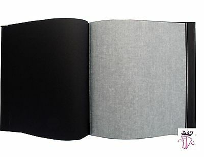 60 page dry mount 4x6in 5x7in 6x8in 8x10in photo album Archival style Acid free,