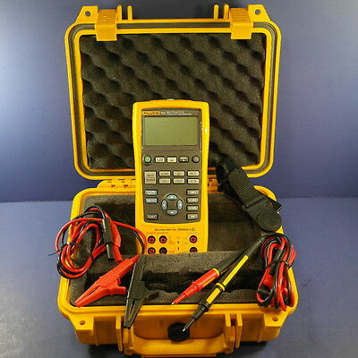 New Fluke 725 MultiFunction Process Calibrator, New Waterproof Case!