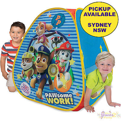 Paw Patrol Classic Hideaway Playhouse Game Kids Toys Play Tent Chase Skye Rubble