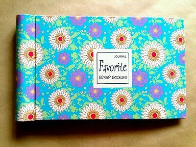 "Beautiful Mini Scrapbook Ring Photo Album ""Spring Favorite B"" 24 Sheets 48Pages"