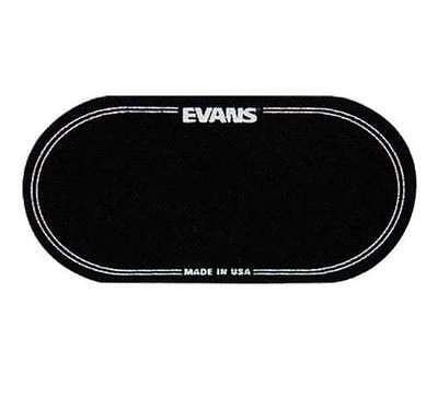 EVANS EQPB2 Patch bass drumhead double pedal- 2 pieces grosse caisse - NEUF