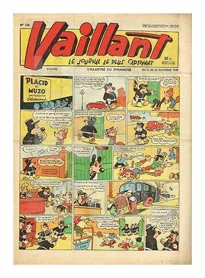 VAILLANT   N°    236   1949   BE-/BE  (Nc)