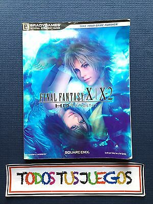 Guia Final Fantasy X / X-2 HD Remaster Playstation 4 Xbox One RARO RARE