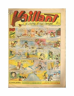 Vaillant   N°    510   1955   Be/be+