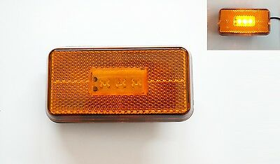 Yellow LED Side Step Marker Light Lamp specific for Scania R 2004> OEM 1737413