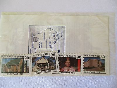 Hutt River Province Western Australia Christmas Stamps 1979 FREEPOST