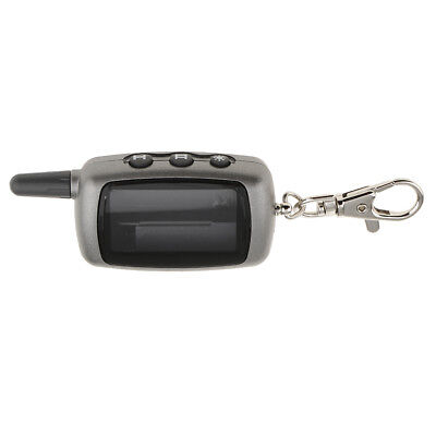 Keychain Case Key Shell for StarLine A9/A6 LCD Remote 2-Way Car Alarm System
