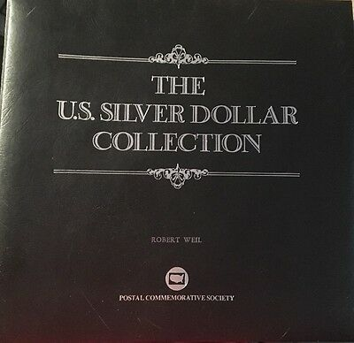 The US Silver Dollar Collection 26 Coins Morgan and Peace Postal Comm. Set