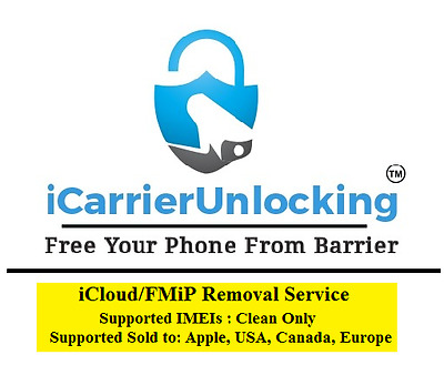 iCloud/FMiP Remove Service ( Clean IMEIs Only )