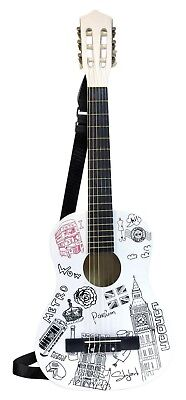 Bontempi - Guitar 238512 - Wooden - London - 85 cm. Delivery is Free