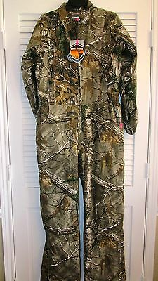 Gw Womens Realtree Hunting Jump Suit Large
