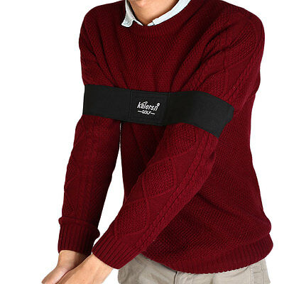 New Adjustable Golf Training Equipment Arm Posture Motion Correction Belt Band
