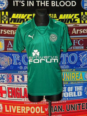 4/5 Viborg FF adults L 2008 football shirt jersey trikot mint soccer