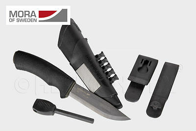 Morakniv Bushcraft Survival Carbon Messer mit Feuerstarter MORA NZ-BSS-CS-01.