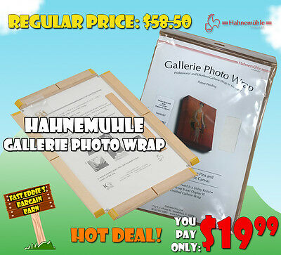 Hahnemuhle Gallerie Photo Wrap - Daguerre OR Monet Canvas