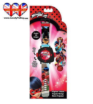 Miraculous Ladybug Watch With Projector , Children Watch , Kids Watch