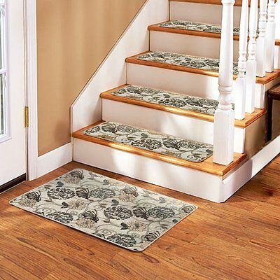 "Soloom Non Slip Stair Treads Carpet Set Of 13(26""X10"")Plus A Matching Landing Ma"