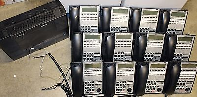 NEC SL1100 phone system voicemail and 14 phones