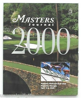 2000 Masters Augusta Official Journal Golf Programme  Excellent  Mint Condition