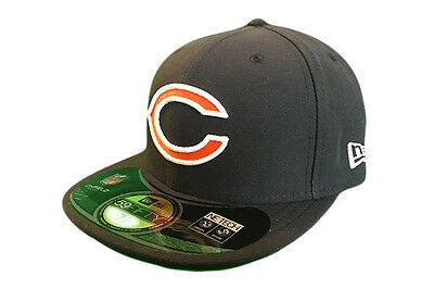 Chicago Bears NFL on Field Fitted 59FIFTY New Era Baseball Cap
