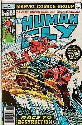 The Human Fly Marvel Comic Vol 1 No 2 Oct 1977