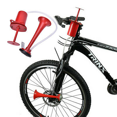 120db Cycling Bike Bicycle Air Horn Pump Bell Super Loud New Professional Red BO