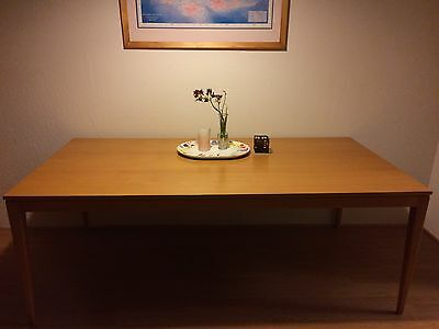 Now Reduced: Original Thonet Table Classic Design Solid Beech Wood