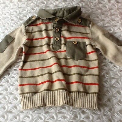 Baby Boys T-shirt Size 9-12 Months In Good Condition