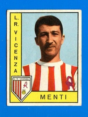 Nuova CALCIATORI PANINI 1962-63-Figurina-Sticker - MENTI - VICENZA -New