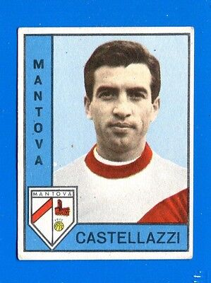 Nuova CALCIATORI PANINI 1962-63-Figurina-Sticker - CASTELLAZZI - MANTOVA -New