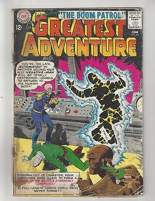 My Greatest Adventure #80/Silver Age DC Comic Book/1st Doom Patrol/GD-