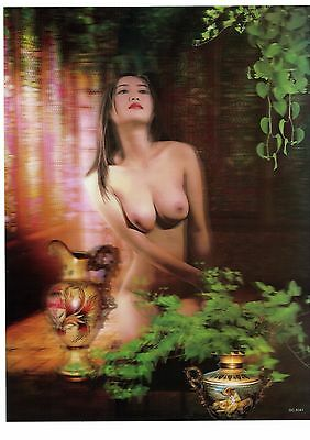 nude girl photography  3D Lenticular  Holographic Stereoscopic Picture Wall Art