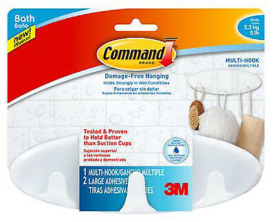 3M BATH21-ES Bath Multi-Hook