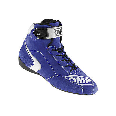 Neu Schuhe OMP FIRST-S blau (Homologation FIA) (41 (7.5 UK) (8 US))