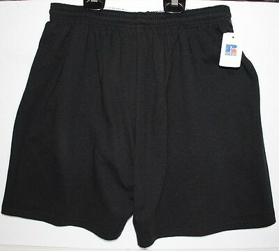 Black NWT Russell Athletic Shorts, Youth XL, Great For Sports, Basketball Soccer