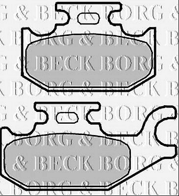 BBP2343 BORG & BECK FRONT BRAKE PADS fits Renault Twizy 04/12- NEW O.E SPEC!