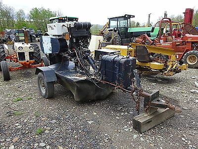 Carlton 7500 Stump Grinder RUNS EXC. DEUTZ 80 HP TURBO DIESEL ENGINE