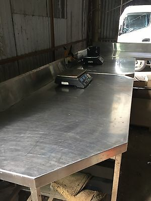 Commercial Heavy Duty Stainless Steel Tables Work Bench